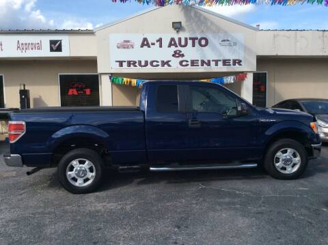 2010 Ford F-150 for sale at A-1 AUTO AND TRUCK CENTER in Memphis TN
