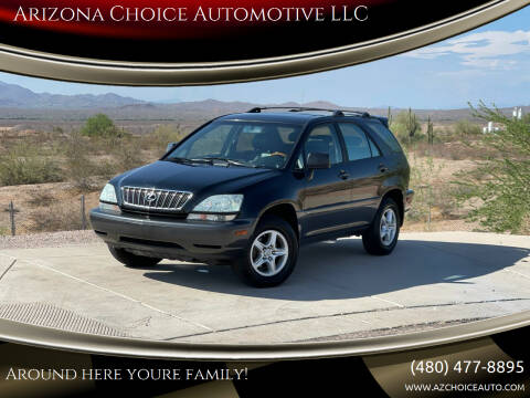 2003 Lexus RX 300 for sale at Arizona Choice Automotive LLC in Mesa AZ
