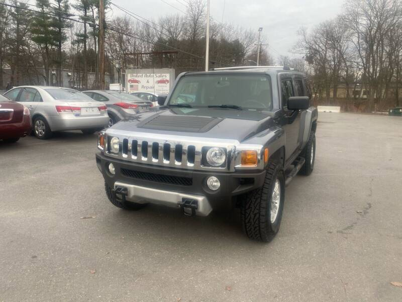 2009 HUMMER H3 for sale at United Auto Service in Leominster MA