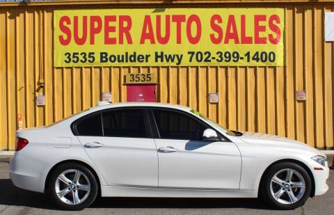 2013 BMW 3 Series for sale at Super Auto Sales in Las Vegas NV