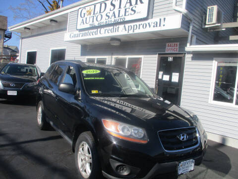 2010 Hyundai Santa Fe for sale at Gold Star Auto Sales in Johnston RI