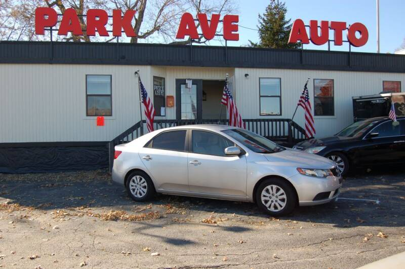 2010 Kia Forte for sale at Park Ave Auto Inc. in Worcester MA