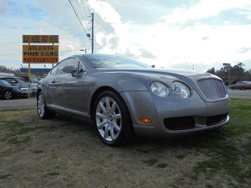 2005 Bentley Continental for sale at Atlanta Fine Cars in Jonesboro GA