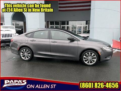 2015 Chrysler 200 for sale at Papas Chrysler Dodge Jeep Ram in New Britain CT