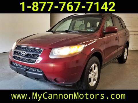 2007 Hyundai Santa Fe for sale at Cannon Motors in Silverdale PA