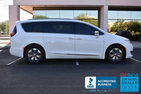 2018 Chrysler Pacifica Hybrid for sale at GOLDIES MOTORS in Phoenix AZ