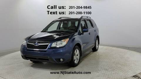2014 Subaru Forester for sale at NJ State Auto Used Cars in Jersey City NJ