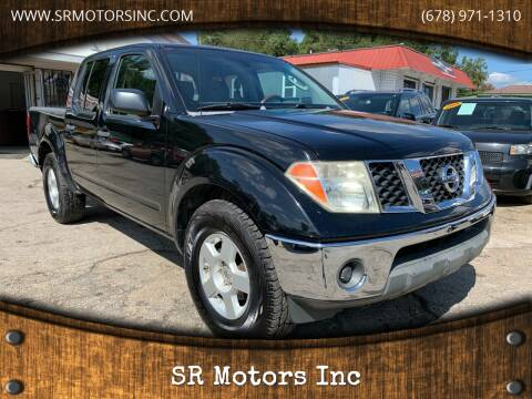 2006 Nissan Frontier for sale at SR Motors Inc in Gainesville GA