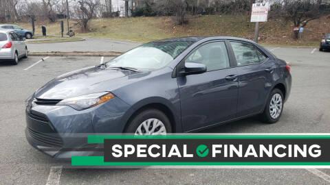 2017 Toyota Corolla for sale at JOANKA AUTO SALES in Newark NJ