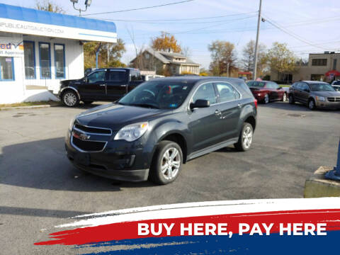 2014 Chevrolet Equinox for sale at E.L. Davis Enterprises LLC in Youngstown OH