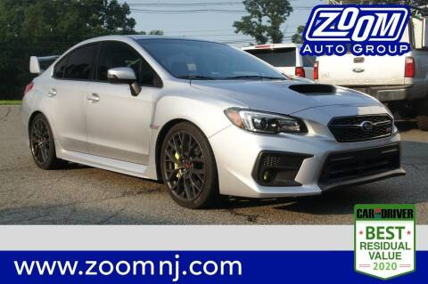 2019 Subaru WRX for sale at Zoom Auto Group in Parsippany NJ