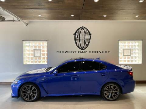 2008 Lexus IS F for sale at Midwest Car Connect in Villa Park IL