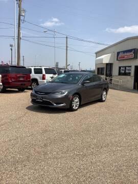 2015 Chrysler 200 for sale at Chaparral Motors in Lubbock TX