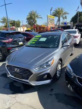 2018 Hyundai Sonata for sale at 2955 FIRESTONE BLVD - 3271 E. Firestone Blvd Lot in South Gate CA