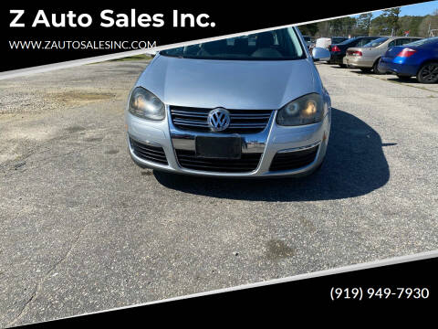2008 Volkswagen Jetta for sale at Z Auto Sales Inc. in Rocky Mount NC