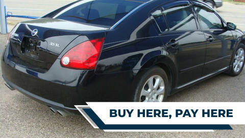 2007 Nissan Maxima for sale at Chuck Spaugh Auto Sales in Lubbock TX