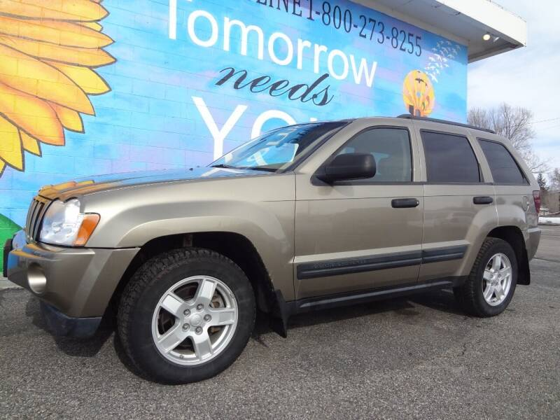 2005 Jeep Grand Cherokee for sale at FINISH LINE AUTO SALES in Idaho Falls ID