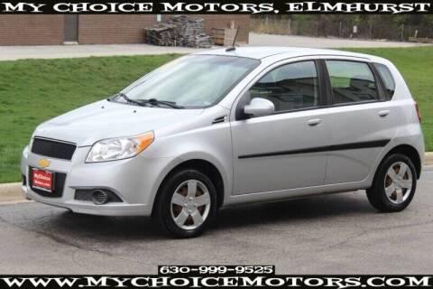 2011 Chevrolet Aveo for sale at My Choice Motors Elmhurst in Elmhurst IL