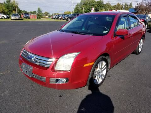 2008 Ford Fusion for sale at Arcia Services LLC in Chittenango NY