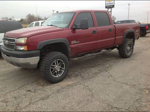 2005 Chevrolet Silverado 2500HD for sale at Melton Chevrolet in Belleville KS