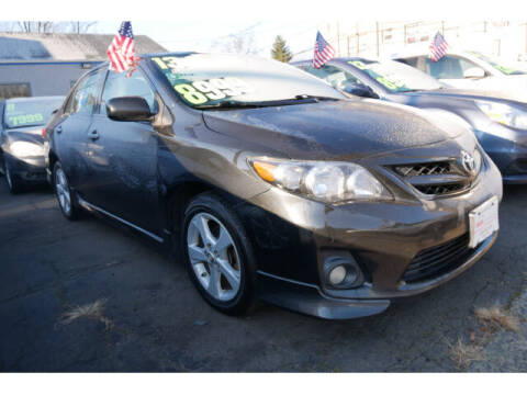 2013 Toyota Corolla for sale at M & R Auto Sales INC. in North Plainfield NJ