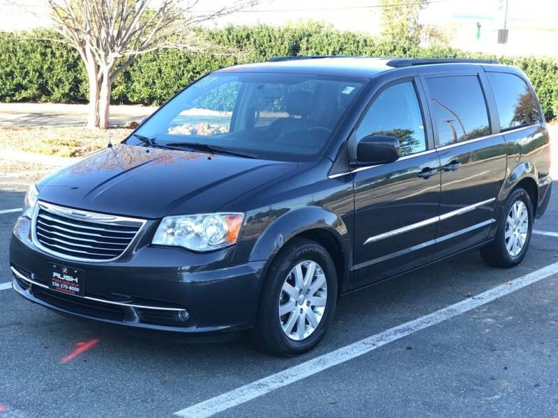 2013 Chrysler Town and Country for sale at RUSH AUTO SALES in Burlington NC