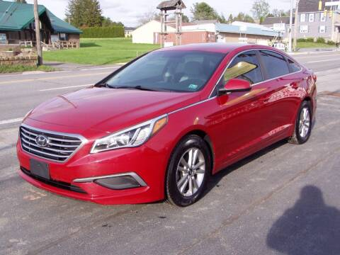 2017 Hyundai Sonata for sale at The Autobahn Auto Sales & Service Inc. in Johnstown PA