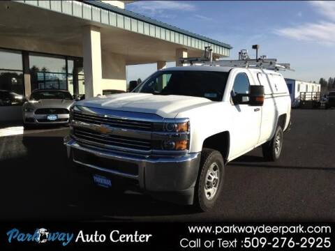 2015 Chevrolet Silverado 2500HD for sale at PARKWAY AUTO CENTER AND RV in Deer Park WA