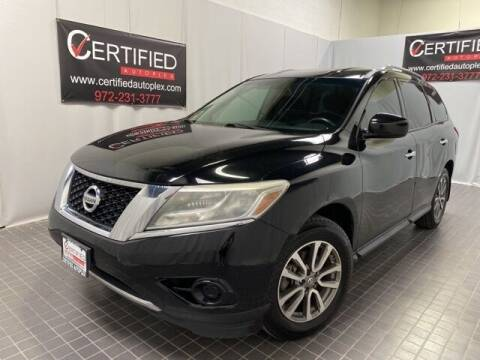 2013 Nissan Pathfinder for sale at CERTIFIED AUTOPLEX INC in Dallas TX
