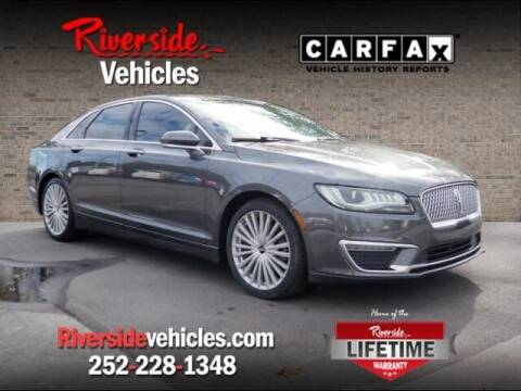 2017 Lincoln MKZ Hybrid for sale at Riverside Mitsubishi(New Bern Auto Mart) in New Bern NC