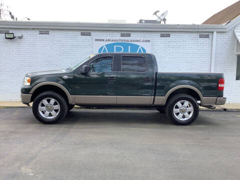 2006 Ford F-150 for sale at ARIA  AUTO  SALES in Raleigh NC