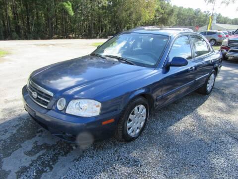 2005 Kia Optima for sale at Bullet Motors Charleston Area in Summerville SC
