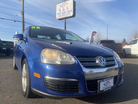 2008 Volkswagen Jetta for sale at S&S Best Auto Sales LLC in Auburn WA