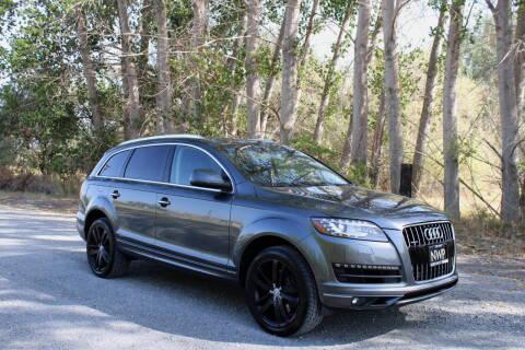2013 Audi Q7 for sale at Northwest Premier Auto Sales in West Richland WA