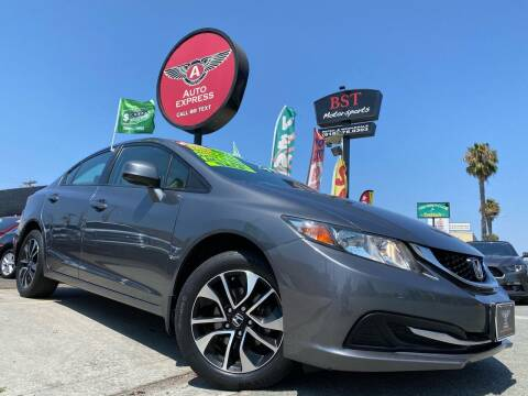 2013 Honda Civic for sale at Auto Express in Chula Vista CA