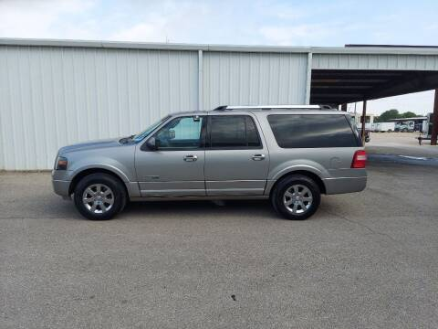 2008 Ford Expedition EL for sale at Longhorn Motors in Belton TX