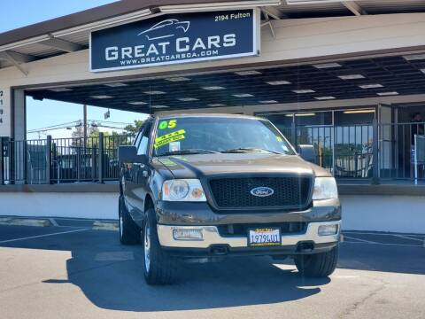 2005 Ford F-150 for sale at Great Cars in Sacramento CA