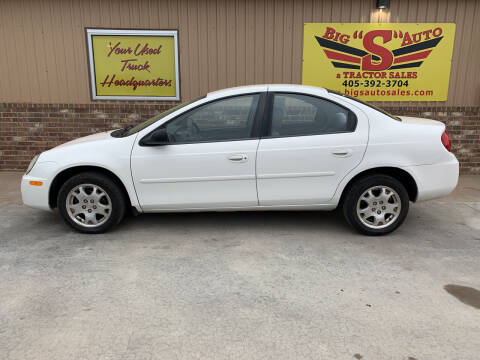 2003 Dodge Neon for sale at BIG 'S' AUTO & TRACTOR SALES in Blanchard OK