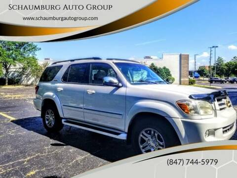 2007 Toyota Sequoia for sale at Schaumburg Auto Group in Schaumburg IL