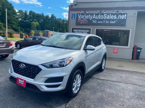 2019 Hyundai Tucson for sale at Variety Auto Sales in Worcester MA