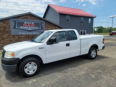 2008 Ford F-150 for sale at Rick's R & R Wholesale, LLC in Lancaster OH