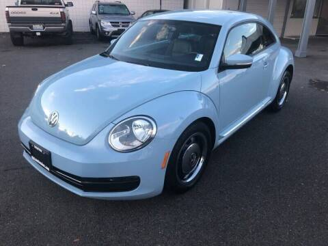 2012 Volkswagen Beetle for sale at TacomaAutoLoans.com in Tacoma WA
