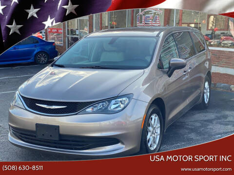 2017 Chrysler Pacifica for sale at USA Motor Sport inc in Marlborough MA