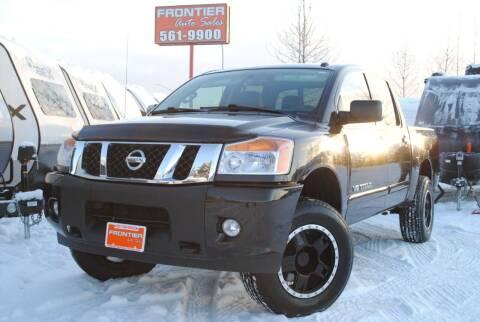 2014 Nissan Titan for sale at Frontier Auto & RV Sales in Anchorage AK
