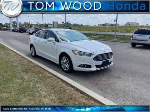 2016 Ford Fusion for sale at Tom Wood Honda in Anderson IN