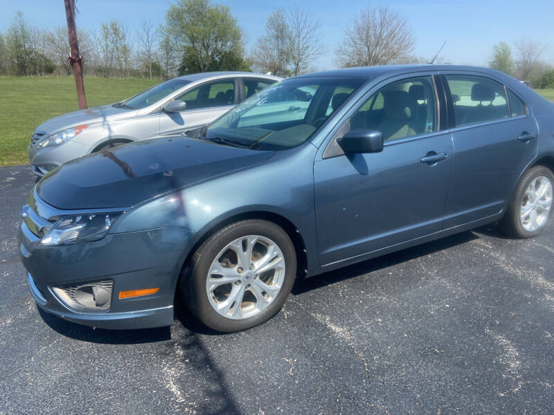 2012 Ford Fusion for sale at EAGLE ONE AUTO SALES in Leesburg OH