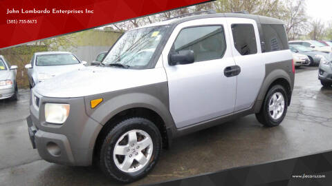 2003 Honda Element for sale at John Lombardo Enterprises Inc in Rochester NY
