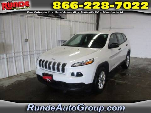 2015 Jeep Cherokee for sale at Runde Chevrolet in East Dubuque IL