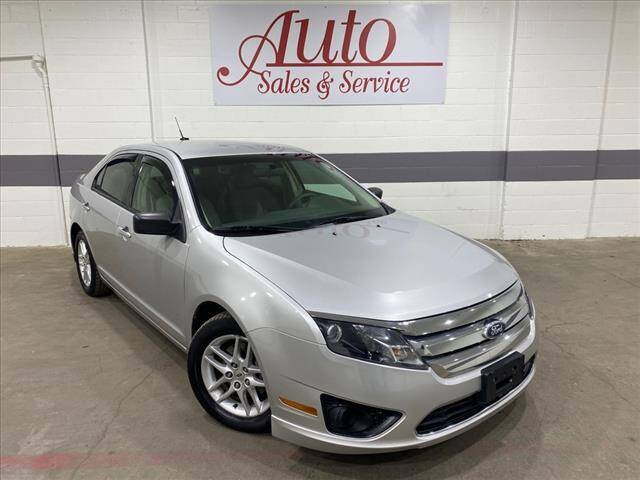 2010 Ford Fusion for sale at Auto Sales & Service Wholesale in Indianapolis IN