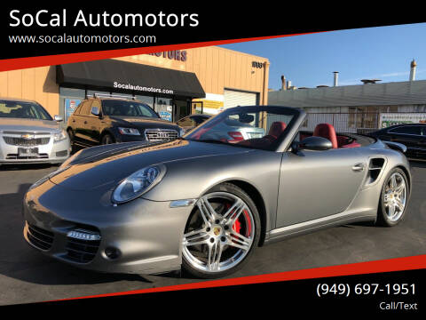 2008 Porsche 911 for sale at SoCal Automotors in Costa Mesa CA